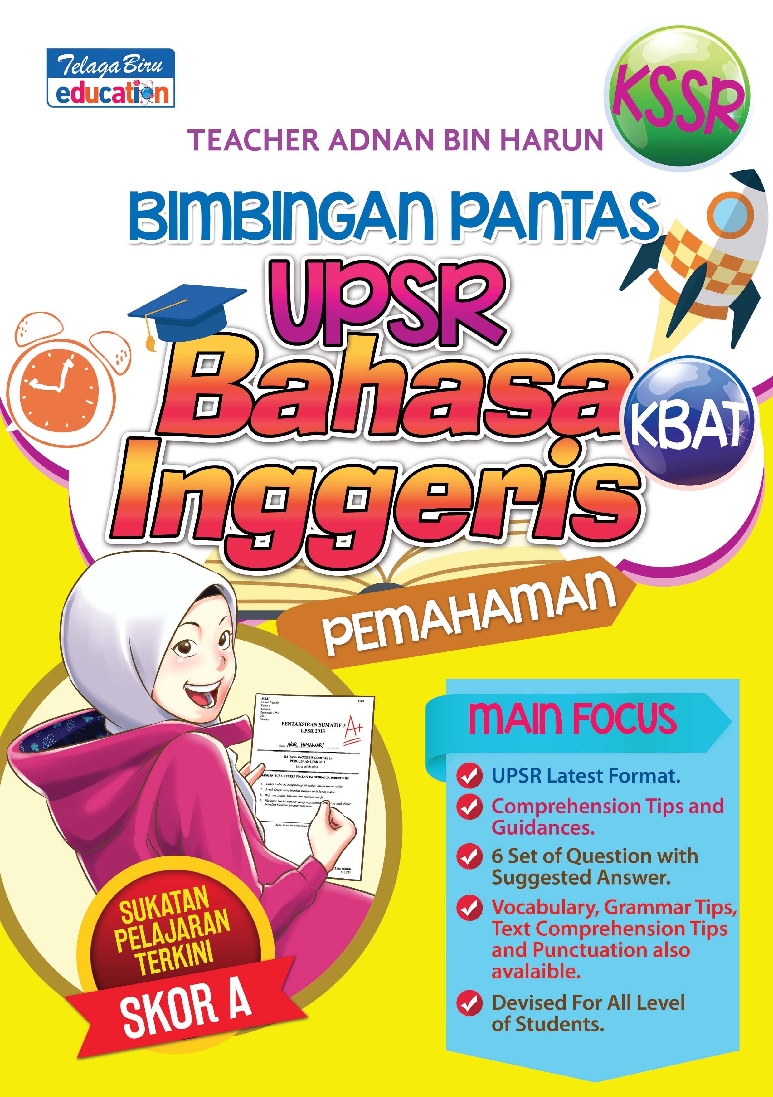 Latihan Bahasa Inggeris Upsr Berguna Telaga Biru Sdn Bhd Buku Bimbingan Pantas Upsr Bahasa Of Himpunan Latihan Bahasa Inggeris Upsr Yang Baik Khas Untuk Para Murid Lihat!