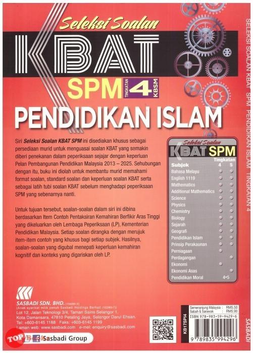 Latihan Sains Tingkatan 4 Terhebat Sasbadi 17 Seleksi soalan Kbat Spm Pendidikan islam Tingkatan 4 Of Dapatkan Latihan Sains Tingkatan 4 Yang Terhebat Khas Untuk Guru-guru Lihat!
