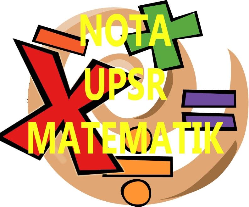 Nota Padat Matematik Tahun 3 Yang Sangat Penting Nota Upsr Matematik Sumber Pendidikan Of Senarai Nota Padat Matematik Tahun 3 Yang Terbaik Untuk Guru-guru Cetakkan