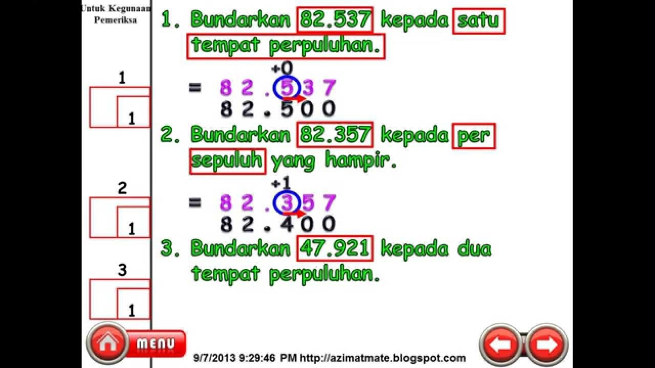 Nota Padat Matematik Upsr Yang Meletup Matematik Upsr Kertas 2 Bundar Dan Perpuluhan Youtube Of Senarai Nota Padat Matematik Upsr Yang Penting Untuk Guru-guru Perolehi