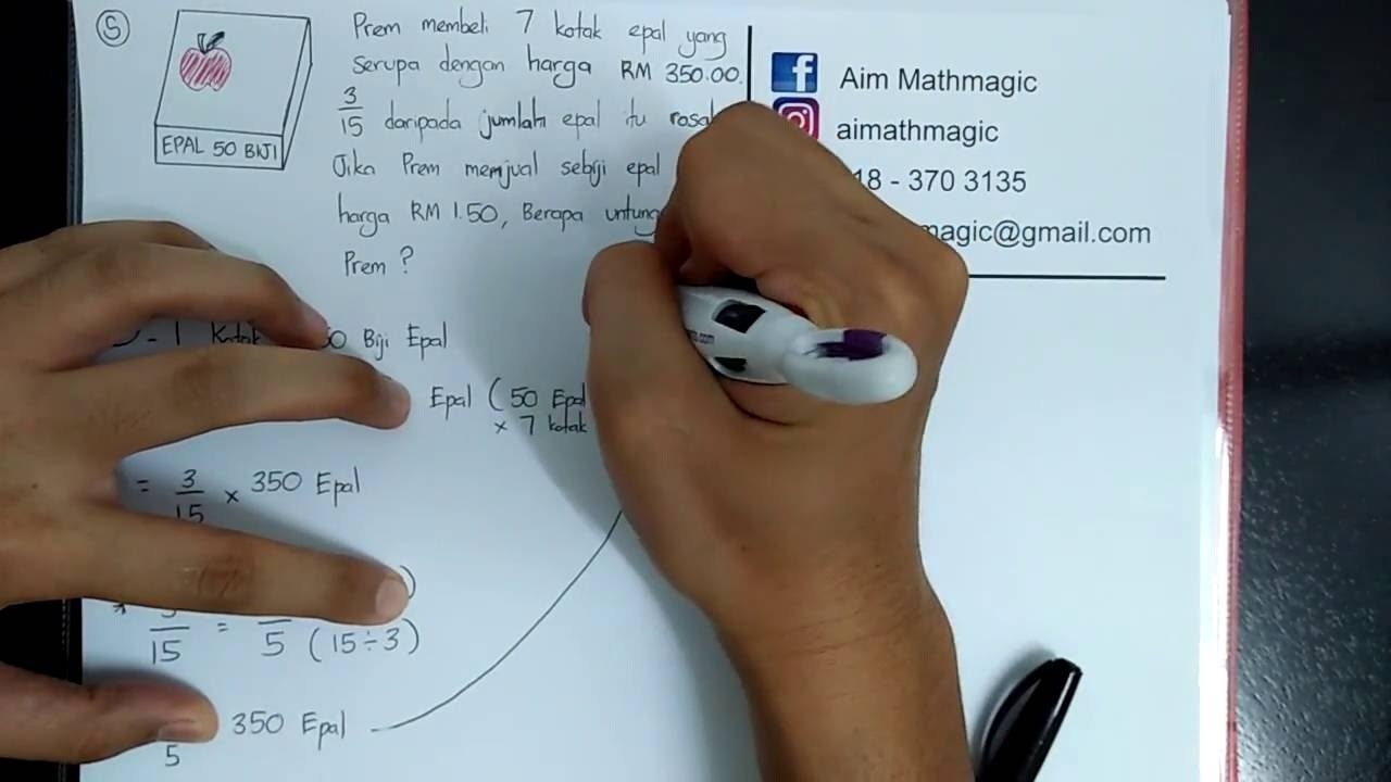 Nota Padat Matematik Upsr Yang Sangat Bernilai Aimathmagic Matematik Upsr Tahun 6 topik 5 Wang Youtube Of Senarai Nota Padat Matematik Upsr Yang Penting Untuk Guru-guru Perolehi