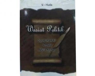 Nota Wasiat Yang Sangat Penting Hawra Wasiat Politik Buku islam