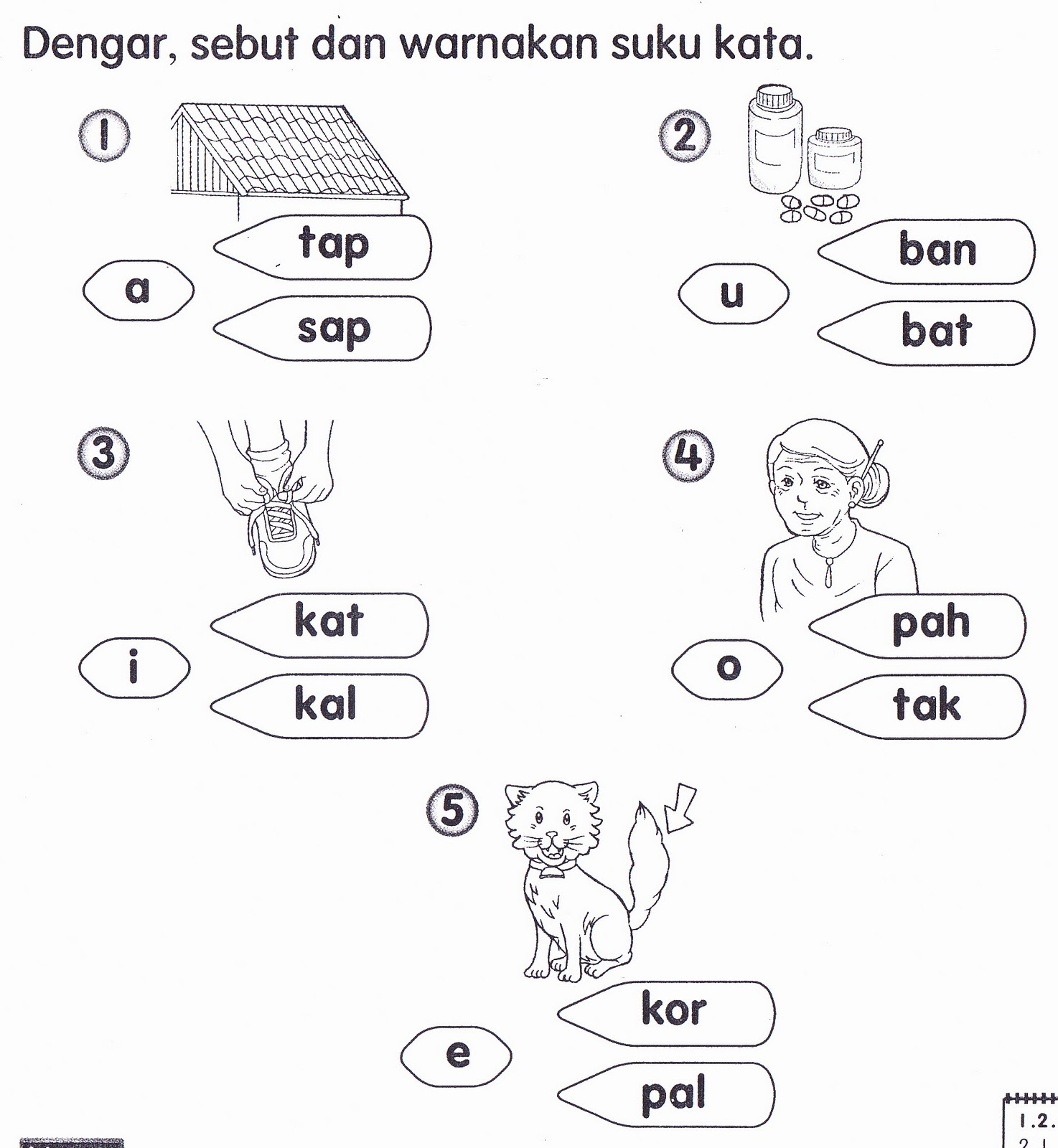 Pelbagai Soalan Latihan Bahasa Inggeris Tahun 1 Yang Hebat Khas Untuk Guru Guru Dapatkan Pekeliling Terbaru Kerajaan