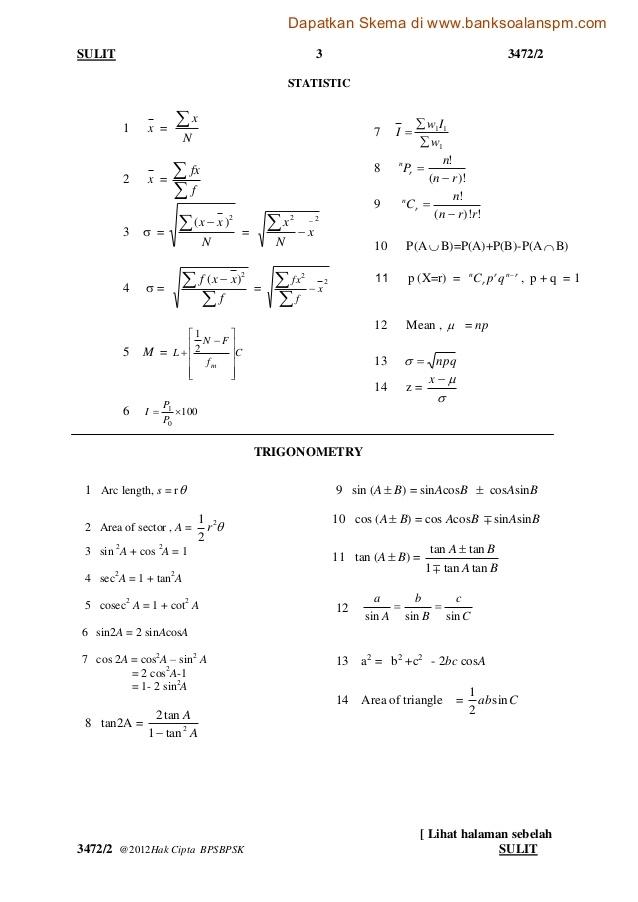 Soalan Peperiksaan Akhir Tahun Matematik Tambahan Tingkatan 4 Hebat Matematik Tambahan Kertas 2 Of Dapatkan Peperiksaan Akhir Tahun Matematik Tambahan Tingkatan 4 Yang Terbaik Khas Untuk Guru-guru Perolehi!