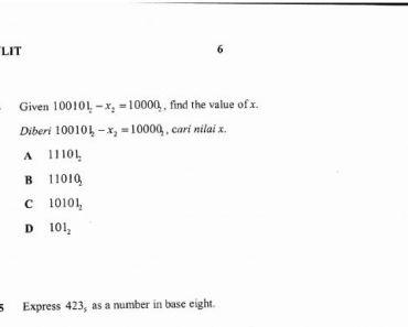 Soalan Peperiksaan Akhir Tahun Matematik Tingkatan 4 Penting soalan Percubaan Spm 2017 Matematik Sbp Berserta Skema Jawapan