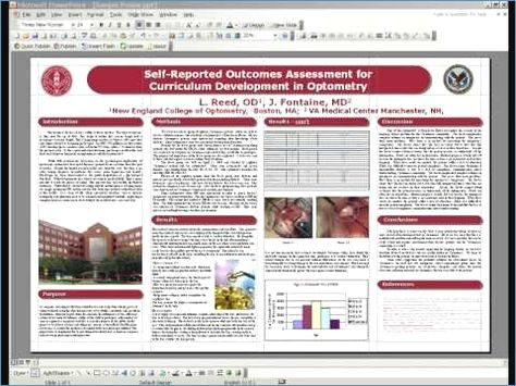 how to make a scientific poster on powerpoint gidiye