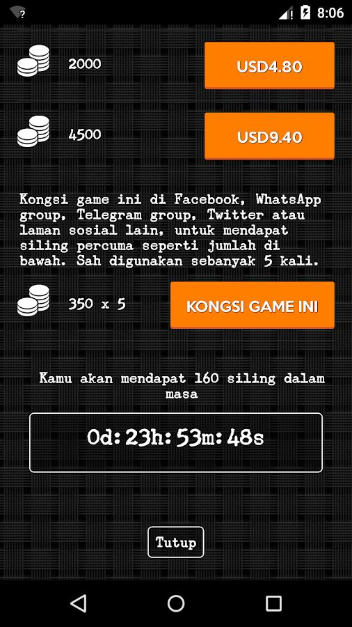 Aktiviti Teka Silang Kata Bahasa Malaysia Baik Teka Teki Malaysia 1 0 4 Apk Download android Trivia Games