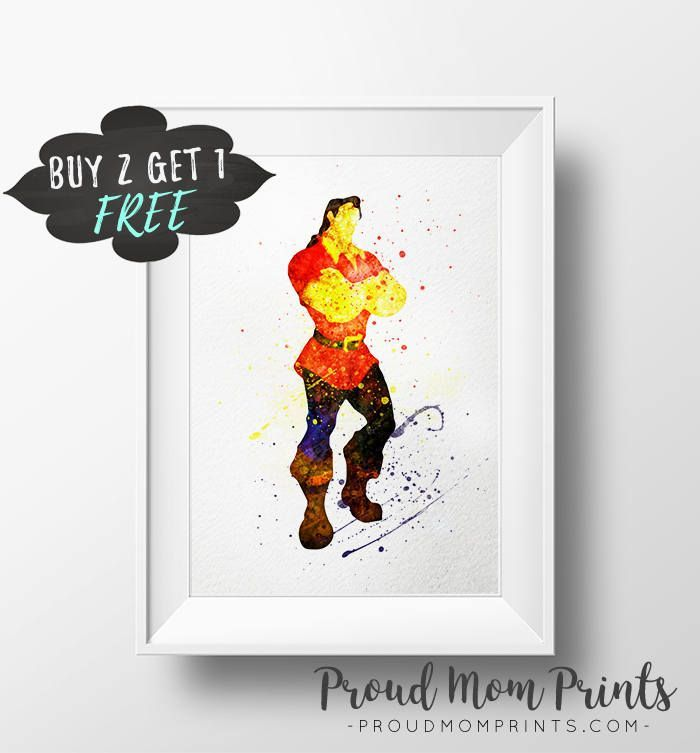 the beast art beauty and the beast gaston gaston printable beast birthday