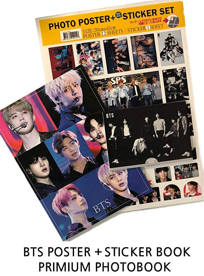 Bts Love Yourself Poster Baik Amazon Com Idolpark Bts Photo Poster Sticker Set Premium Photo