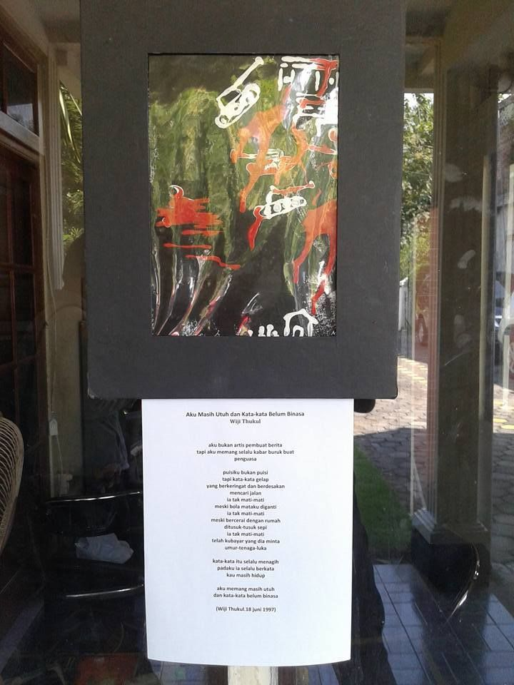 Buat Poster Online Meletup Kemerdekaan Puisi Puisi Wiji Thukul 32 Monumen Peringatan Wiji