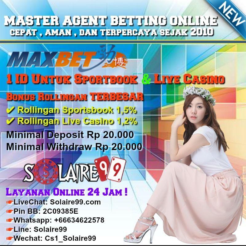 mau 1 id untuk sportbook dan live casino