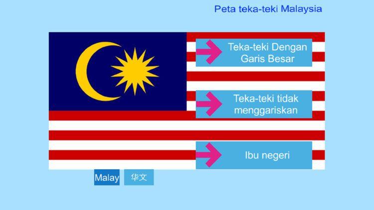 peta teka teki malaysia