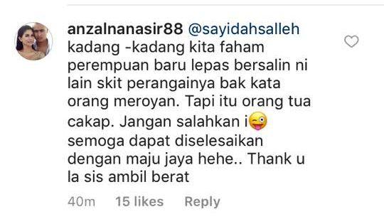 semoga dapat diselesaikan dengan maju jaya hehe thank you la sis ambil berat tulisnya di instagram yang membalas kenyataan followersnya