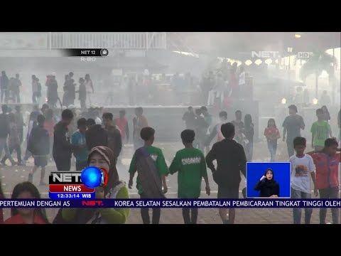 sambut ramadhan warga palembang melakukan aksi perang mercon net12