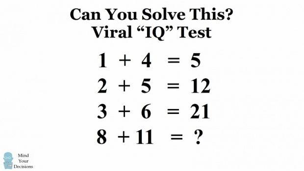 teka teki matematika ini diposting randall jones dari colombus ohio amerika serikat di akun facebook nya beberapa waktu lalu dan sudah 3 juta orang lebih