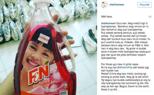 namun tiada sebarang reaksi dari selebriti berasal dari melaka itu berkaitan teka teki yang melanda netizen negara ini