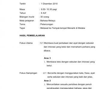 Download Rpt Bahasa Melayu Tahun 6 Penting Rph Bm Tahun 6