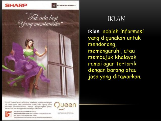 Iklan Poster Menarik Iklan Poster Dan Slogan