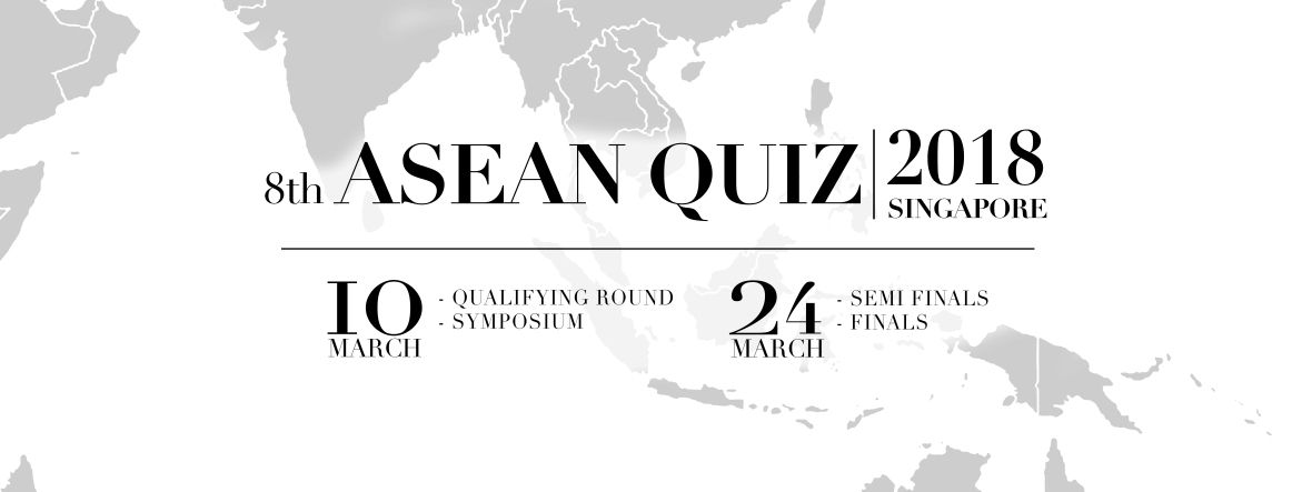 dear students welcome to the official site for the 8th asean quiz singapore as the qualifying round is fast approaching we have uploaded sample