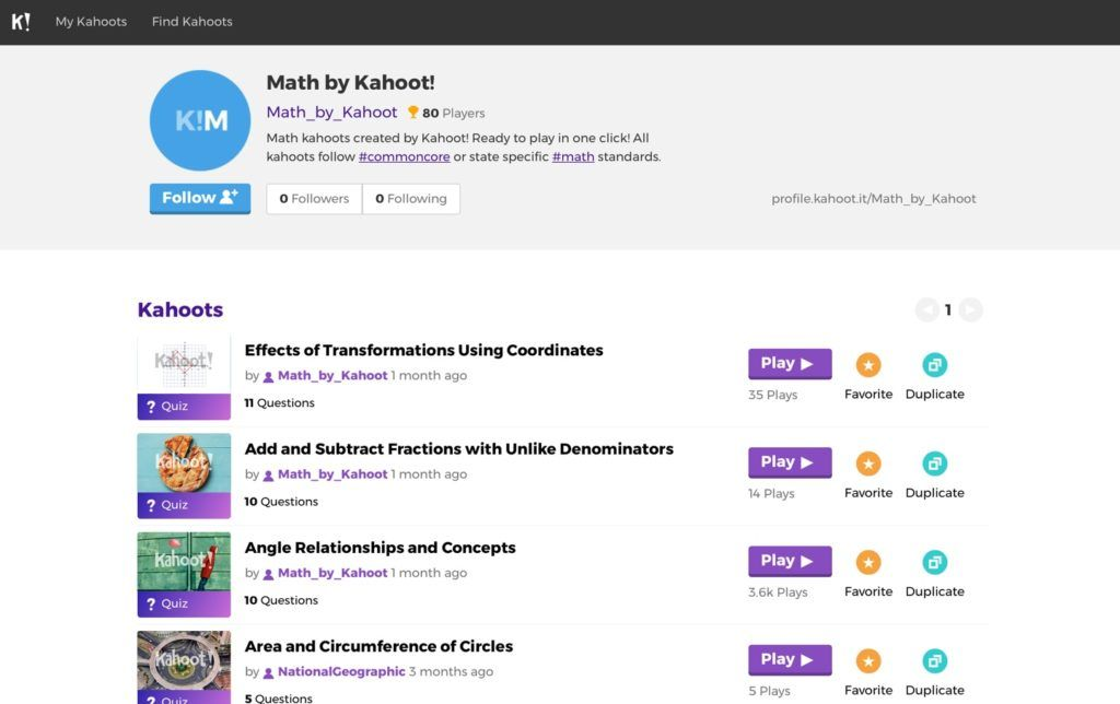Kuiz Kahoot Penting Curriculum Aligned Learning Games Released by Kahoot
