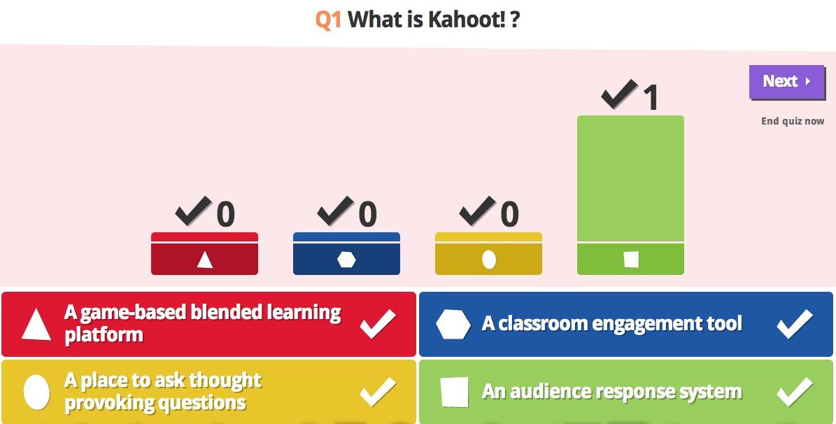 it s possible to update the information on kahoot or report it as discontinued duplicated or spam