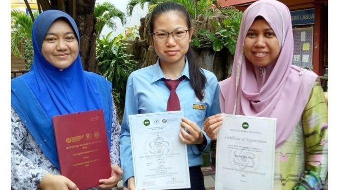 Kuiz Kimia Kebangsaan 2018 Baik Pelajar Tingkatan 5 Smk Labuan Mendapat Anugerah top Scorer Kuiz