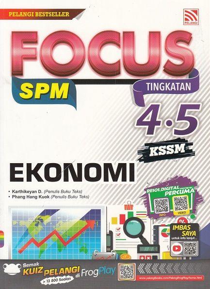 focus spm 2018 tingkatan 4 5 kssm ekonomi 2018