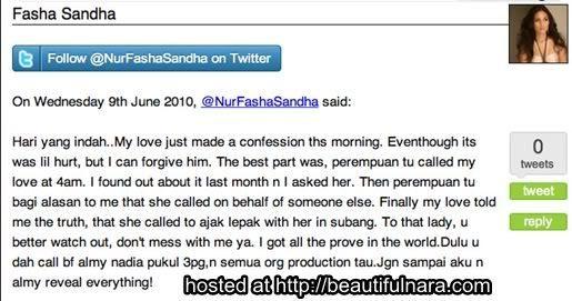kuiz siapa artis wanita yang cuba merampas jejai dari fasha sandha