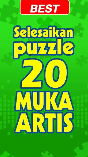 puzzle muka artis screenshot 1 puzzle muka artis screenshot 2