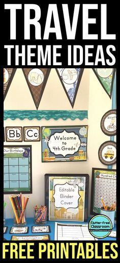 if travel classroom theme ideas are what you need you ll find inspiration here