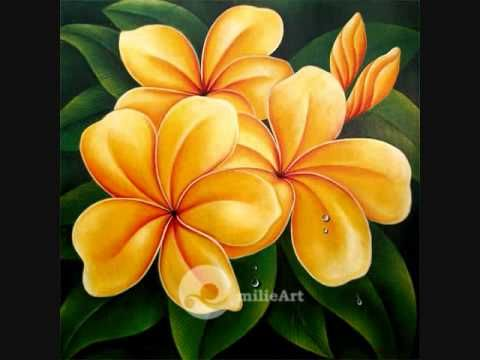 Lukisan Bunga Kertas Bermanfaat Lukisan Bunga Milieart Youtube