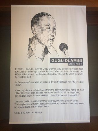 iziko slave lodge description of gugu dlamini
