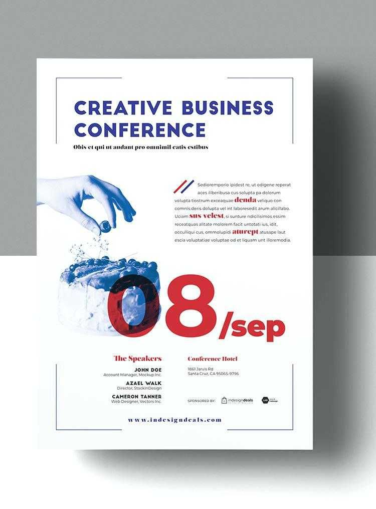 conference brochure template fresh web design poster template download business template for