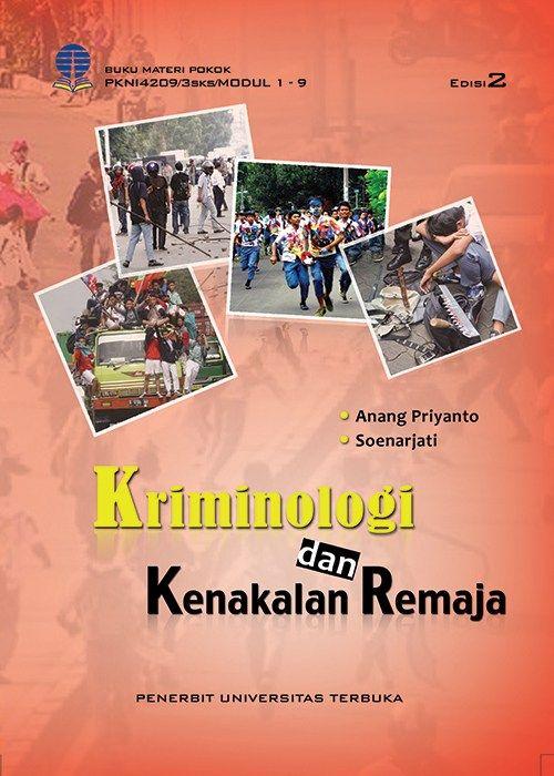 pkni4209 kriminologi dan kenakalan remaja edisi 2