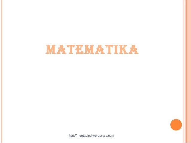 matematika http meetabied com