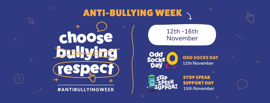 this week is anti bullying week and this year s theme is choose respect