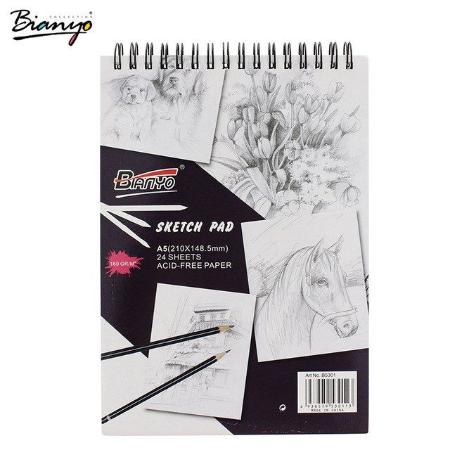 bianyo art sketch book a3 a4 a5 artist sketsa kertas untuk lukisan perlengkapan kantor