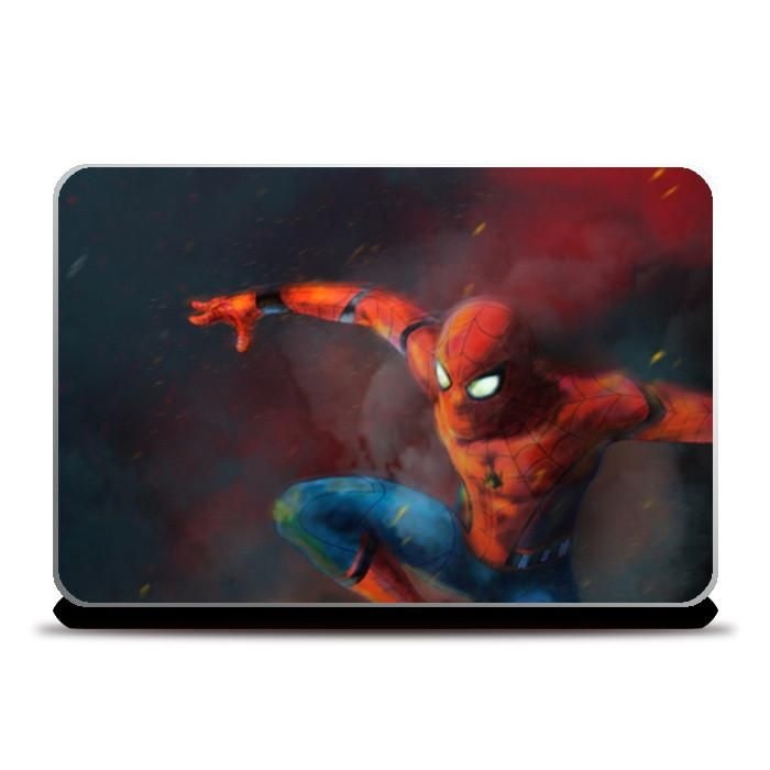 spider man homecoming laptop skins artist anupam prasoon postergully