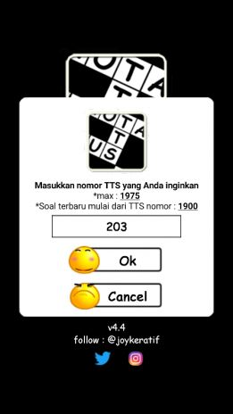 screenshot teka teki silang tts update terbaru agustus 2018 7