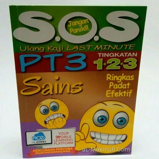 buku nota sos ulang kaji last minute pt3 tingkatan 1 2 3 sains shopee malaysia