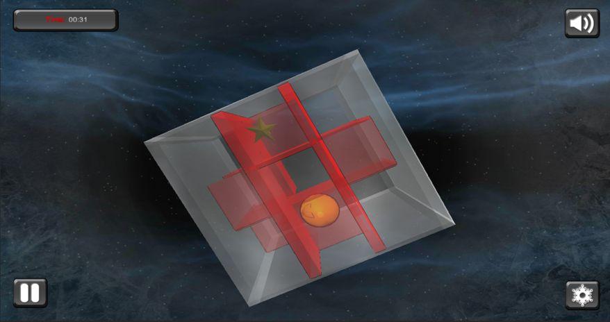 screenshot travel cube maze 3d bola 4