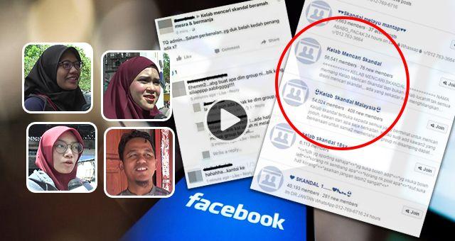 lambakan grup merepek di media sosial untuk apa sebenarnya