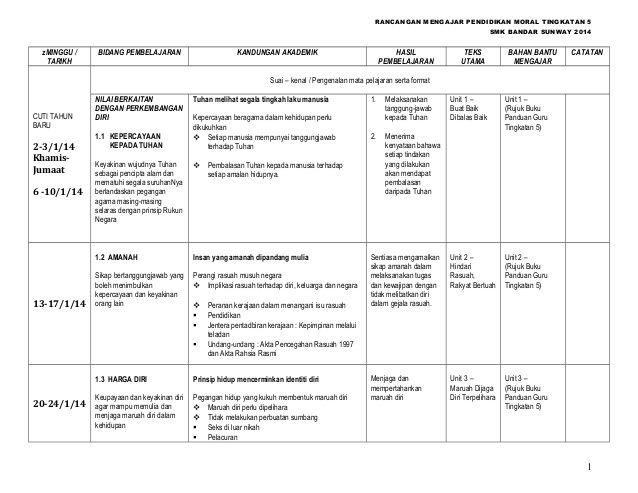 Download Dskp Pendidikan Moral Tingkatan 1 Baik Himpunan Rpt Pendidikan Moral Tingkatan 1 Yang Power Khas Untuk