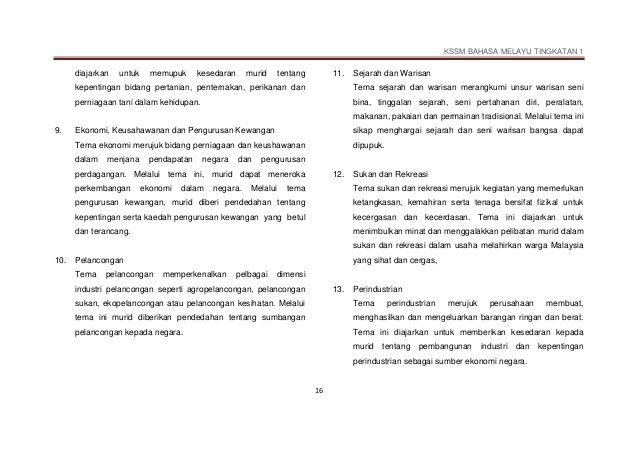 Download Dskp Perniagaan Tingkatan 4 Baik Dskp Kssm Bahasa Melayu Tingkatan 1