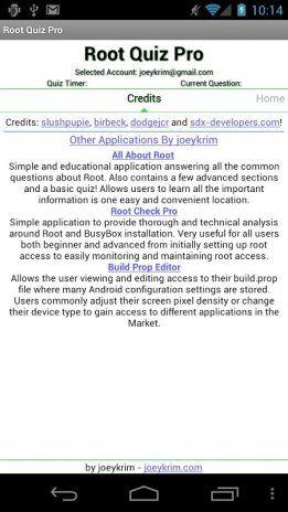 root quiz pro tangkapan skrin 5