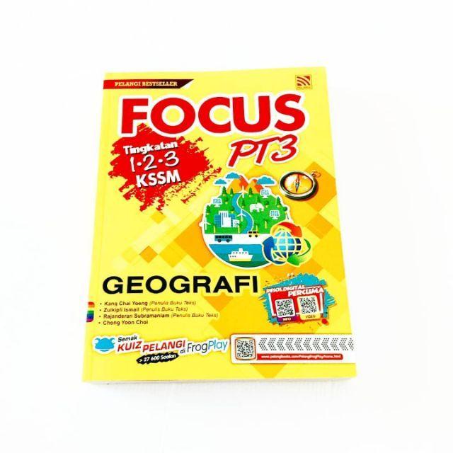 focus pt3 sains tingkatan 1 2 3 kssm 2019 penerbitan pelangi shopee malaysia