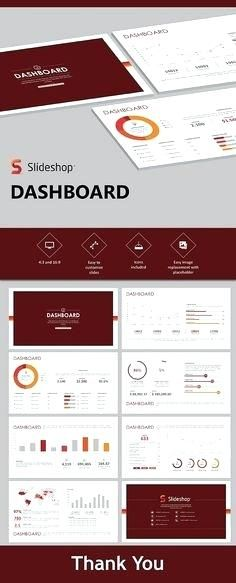 dashboard templates presentation a1 poster template powerpoint free