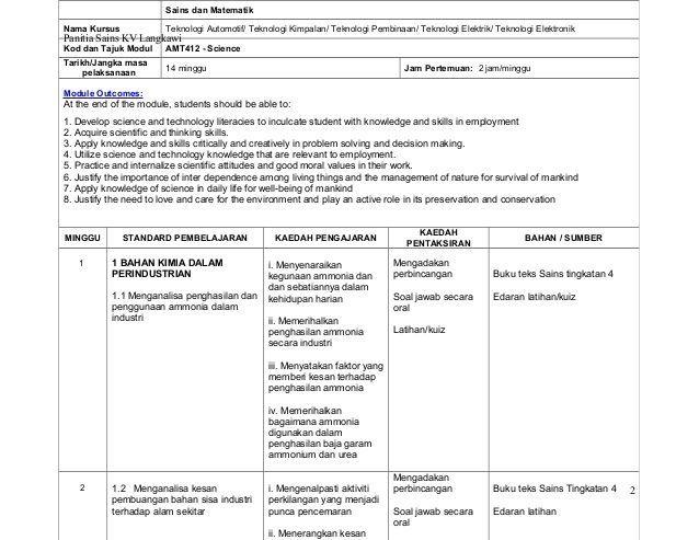 latihan sains tingkatan 4 menarik rancangan sesi latihan rsl sains kolej vokasional semester 4 sains of