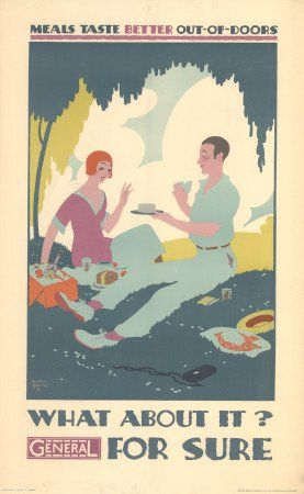 poster what about it general for sure by austin cooper 1928