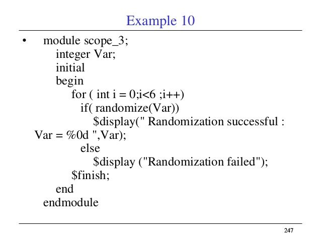 randomized 26
